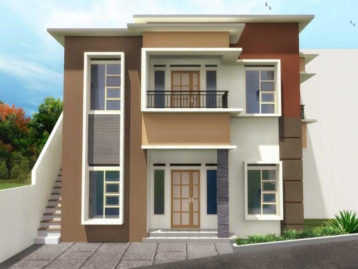 Desain Warna Rumah Minimalis 2 Lantai