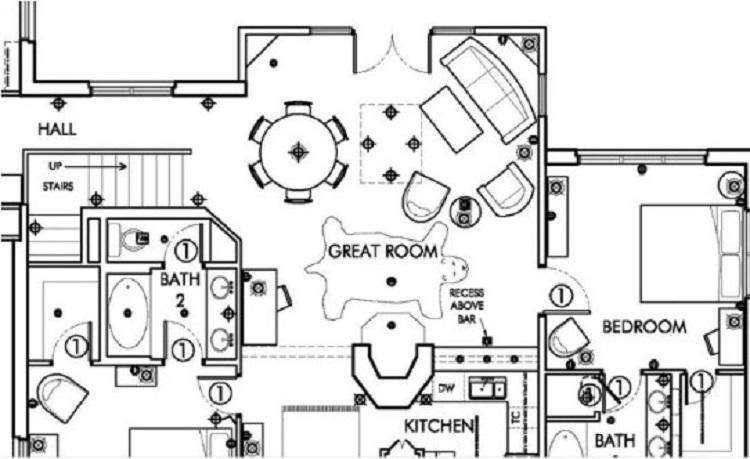 Detail Denah Rumah Type 36