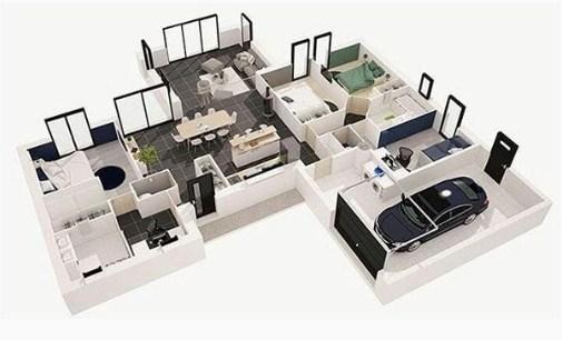 Foto Denah Rumah Minimalis 1 Lantai