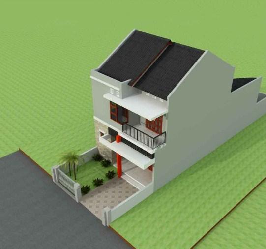 Foto Rumah 2 Lantai Minimalis