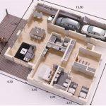 Gambar Denah Rumah Minimalis 1 Lantai