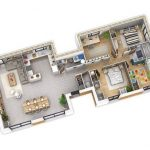 Gambar Denah Rumah Minimalis 1 Lantai Modern 2019