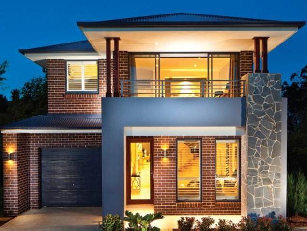 Gambar Rumah 2 Lantai Tampak Depan