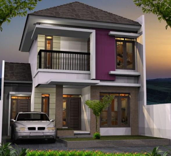 Gambar Rumah 2 Lantai Type 21