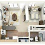 Konsep Open Kitchen yang Mewah pada Denah Rumah Type 36