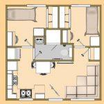 Konsep Rumah Simetris Pada Denah Rumah Type 36