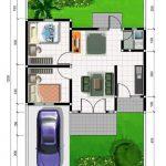Model Dan Denah Rumah Minimalis Type 36