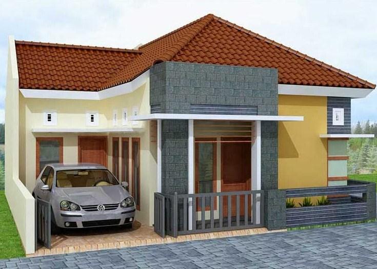 Model Depan Rumah Minimalis 1 Lantai