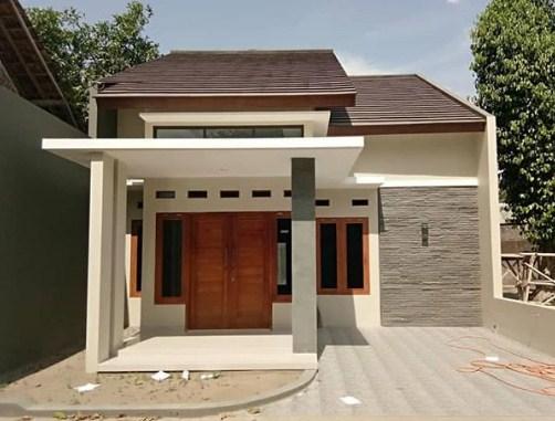 Model Desain Rumah Minimalis Modern 1 Lantai
