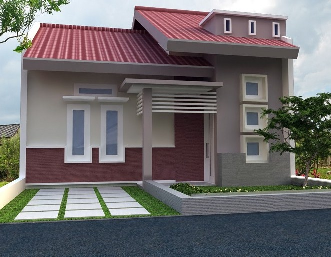 Model Garasi Rumah Minimalis Type 36
