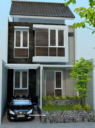 Model Rumah Minimalis 2 Lantai 2019