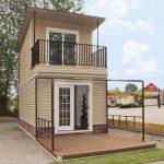 Model Rumah Minimalis 2 Lantai Tampak Depan 2019