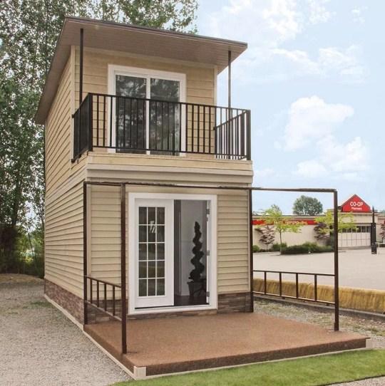 Model Rumah Minimalis 2 Lantai Tampak Depan 2020