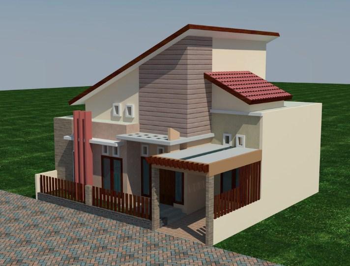 Model Rumah Minimalis Lantai 1