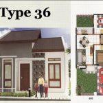 Model Rumah Minimalis Type 36 Beserta Denah