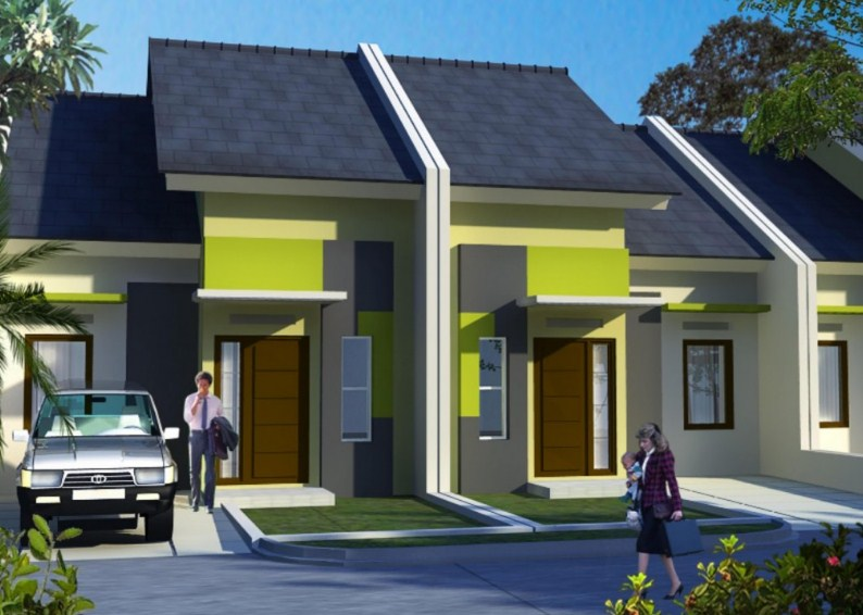 Model Rumah Minimalis Type 36 Lantai 1