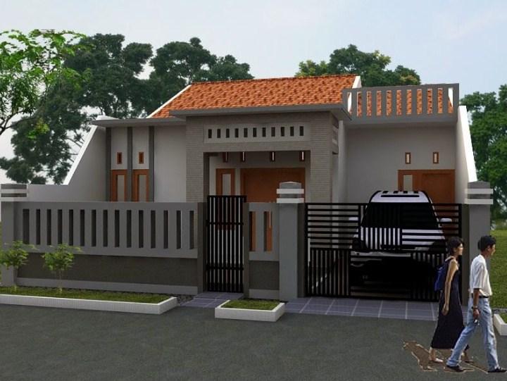 Model Rumah Modern Minimalis 1 Lantai