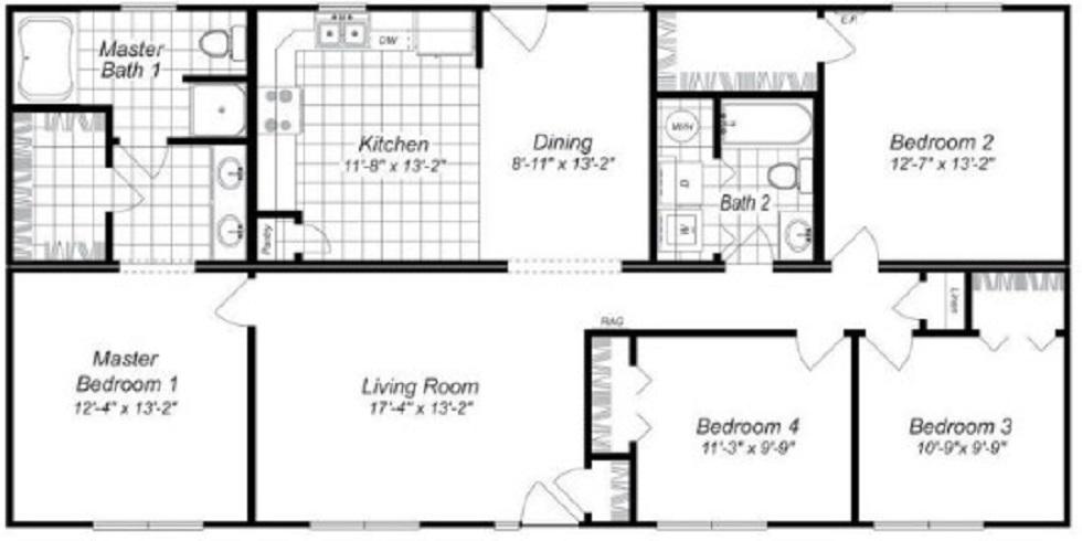 Rancangan Denah Rumah Type 36