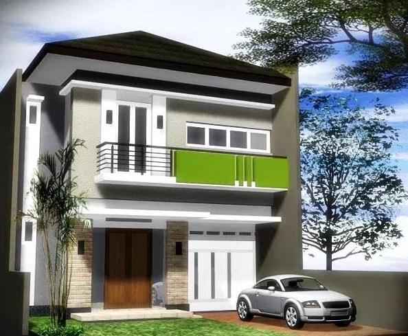 Rumah Lantai 2 Minimalis 2019