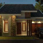 Rumah Minimalis 1 Lantai Leter L