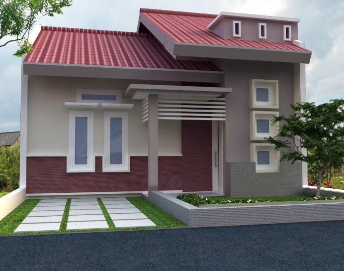 Rumah Minimalis 1 Lantai Modern 2020
