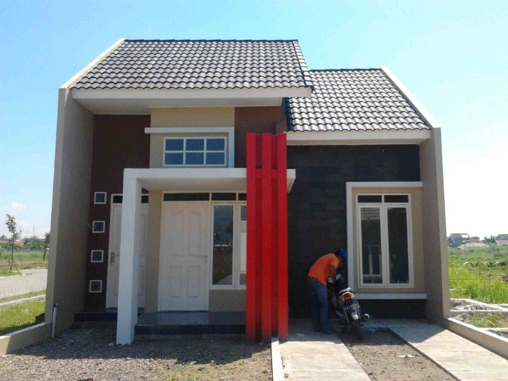 Rumah Minimalis 1 Lantai Modern Type 45