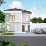 Rumah Minimalis 2 Lantai Modern 2019