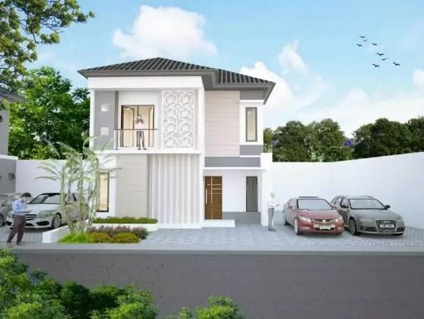 Rumah Minimalis 2 Lantai Modern 2020