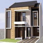 Rumah Minimalis 2 Lantai Type 45 2019