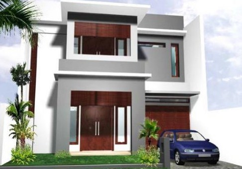 Rumah Minimalis Lantai 2 2019