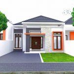 Rumah Minimalis Modern 1 Lantai 2019