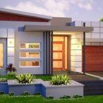 Rumah Minimalis Modern 1 Lantai 4 Kamar