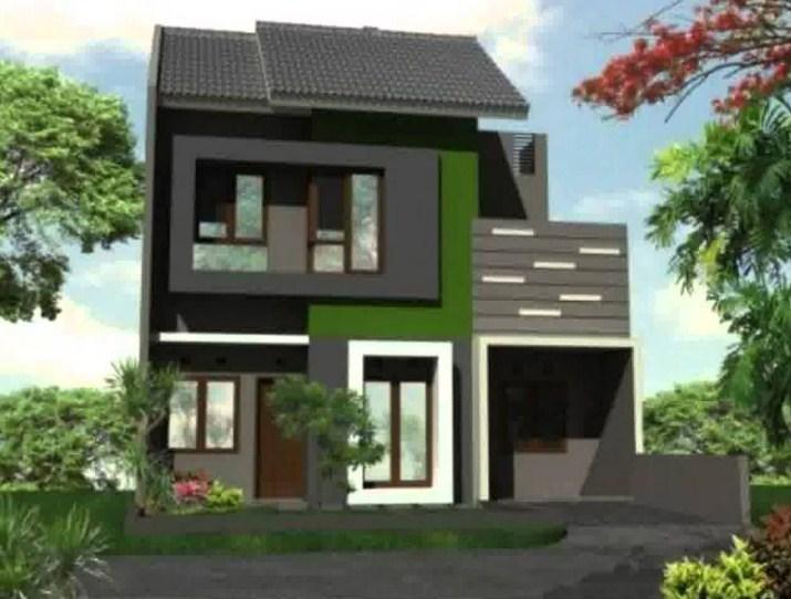 20 Model Rumah 2 Lantai Minimalis Modern Terbaru 2020