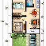 Sketsa Denah Rumah Minimalis Type 36
