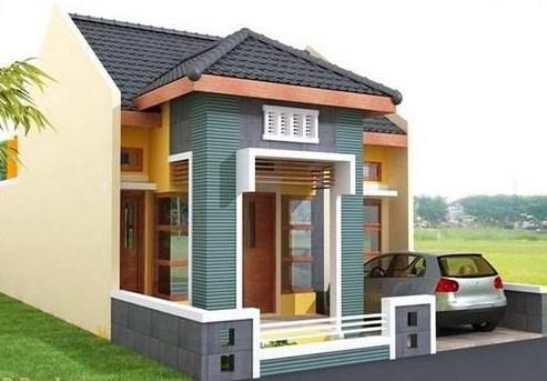 Tampak Depan Model Rumah Minimalis 1 Lantai