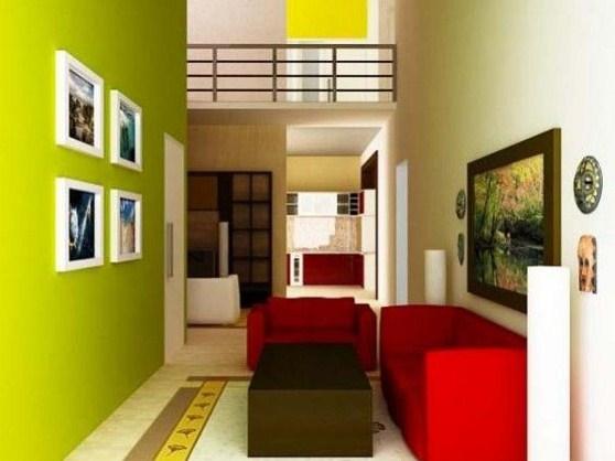 Warna Cat Interior Rumah Type 36