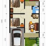 Contoh Denah Rumah Minimalis 2019