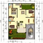 Contoh Denah Rumah Minimalis Type 36