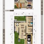 Contoh Denah Rumah Minimalis Type 45