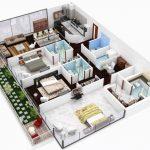 Contoh Denah Rumah Minimalis Type 70