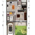 Contoh Denah Rumah Sederhana 2019 Terbaru