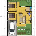 Contoh Denah Rumah Sederhana Terbaru