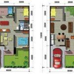 Contoh Denah Rumah Type 36 60