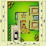 Contoh Denah Rumah Type 45 Minimalis