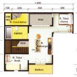 Contoh Gambar Denah Rumah Minimalis Modern