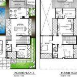Denah Rumah 2 Lantai Dan Kolam Renang