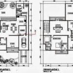 Denah Rumah 2 Lantai Minimalis