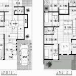 Denah Rumah 2 Lantai Sederhana