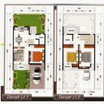 Denah Rumah Minimalis 2 Lantai Dengan Garasi
