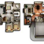 Denah Rumah Minimalis 2 Lantai Tanpa Garasi